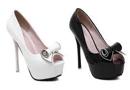 ribbon heels womens ribbon peep toe dress high heels shoesity
