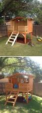 awesome outdoor playhouses for kids