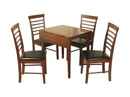 Square Drop Leaf Table Hanover Dark Square Drop Leaf Table With 4 Chairs