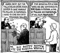 Justice Is Blind The Frolicking Gadfly Justice Is Blind More Like Deaf U0026 Dumb