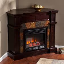 Corner Tv Stands With Fireplace - sei cartwright corner fireplace tv stand in espresso corner