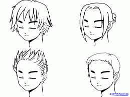shonen hairstyles guy hairstyles drawing unique collections of how to draw boy hair