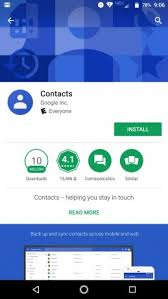 contacts app android contacts app works on all android phones lollipop and up