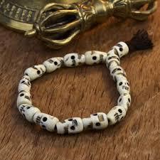 bracelet skull beads images Skull beads thedharmashop jpg