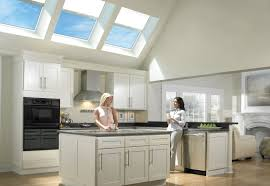 Lighting For Kitchens Ideas by Nice Modern Skylight Lighting System On Small Kitchen Idea