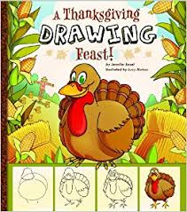 a thanksgiving drawing feast sketchbook m