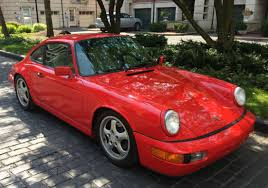 porsche 964 red porsche 964 911 for sale bat auctions
