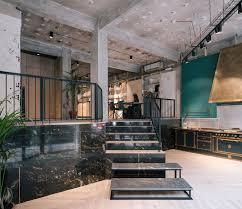 vonna kitchen showroom in madrid spain by pyo arquitectos