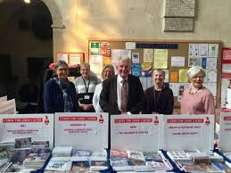 st albans cathedral opens charity christmas card shop st albans