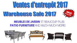 Patio Furniture Warehouse by Patio U0026 Outdoor Furniture Warehouse Sale Allsales Ca