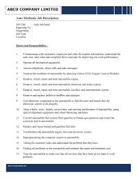 Resume Job Description Samples by Handyman Job Description For Resume Resume For Your Job Application