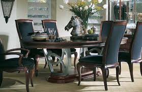 american drew dining table american drew advocate double pedestal dining collection d852 744 at