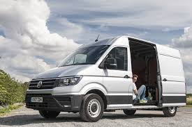 volkswagen crafter back vw crafter long term review the final verdict parkers