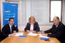 amadeus hellas partners with greek union of air travel agencies