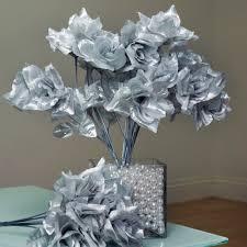 Walmart Wedding Flowers - balsacircle 84 silk open roses wedding flowers bouquets walmart