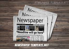 newspaper templates for kids editable newspaper template
