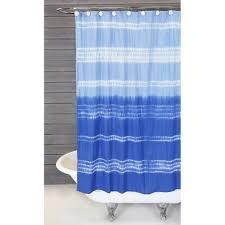 Blue Gingham Shower Curtain Shower Curtains Perigold