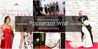 personalised wedding backdrop uk personalised paparazzi backdrop ozzy events