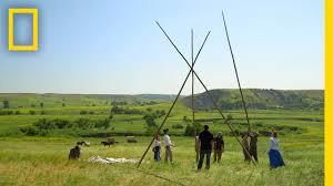 how to build a teepee the pioneers youtube