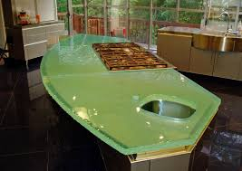 Glass Kitchen Countertops Glass Kitchen Countertops Pros And Cons Elegant Glass Kitchen