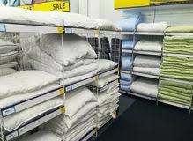 Jysk Duvets Bedding Duvets And Pillows In A Store Editorial Photo Image