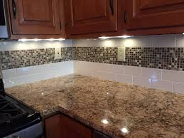 Glass Backsplashes For Kitchen Mosaic Tile Backsplash Kitchen Ideas Home And Interior
