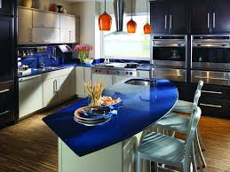kitchen blue quartz countertops tiles home inspirations design