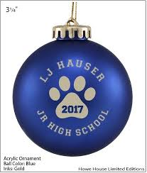 last call to order your ornaments for your hauser student