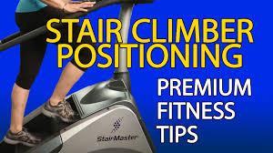 how to use a stair climber la fitness workout tip youtube