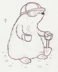 doodle 444 u2013 tunnel mole mole