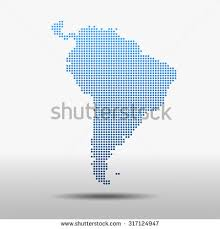 south america dot map stock images royalty free images vectors