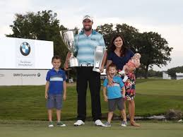 bmw tournament marc leishman wins bmw chionship sets tournament record at 23