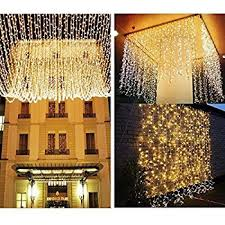 Icicle Lights In Bedroom Knonew Led String Lights 300leds Outdoor Indoor Window Curtain