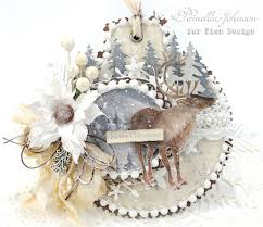 my little craft things pion design merry christmas ornament card