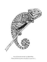 17 doodle animals images wonderland doodles