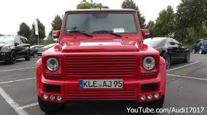 jeep mercedes red brabus mercedes widestar g55 amg red full hd youtube