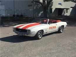chevrolet camaro automatic 1969 chevrolet camaro pace car 14 500 white 350 automatic
