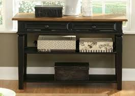 table with drawers and shelves sofa table with drawers terrific 2 drawer sofa table with storage