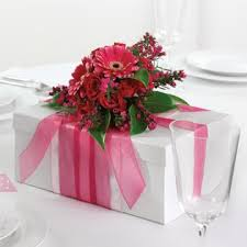 Centerpieces For Birthday by Nosegay Adorned Gift Box Love This Idea For Birthday Showers Or