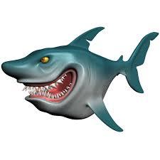 cartoon shark rigged 3d model animals 3d models 3d 3ds max fbx obj