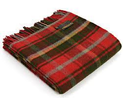 Tartan Amazon Com Tweedmill Tartan Throw Blanket Pure New Wool
