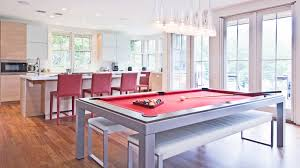 Billiard Room Decor Pool Table Room Decor Kitchen Contemporary With Bench Seats