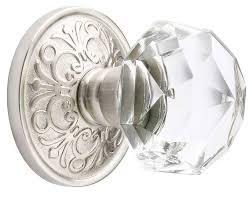 antique crystal door knobs