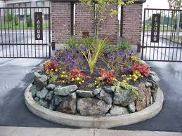 Raised Rock Garden Beds Raised Garden Beds Lawnpro Landscapes Ltd