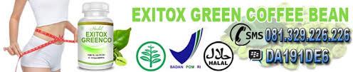exitox green coffee bean obat pengsing badan termanjur