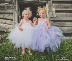 purple and blue tutu dress for girls toddler flower dresses
