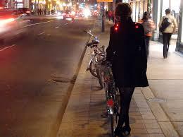 light bike jacket angella mackey s light up led bike coat is high on visibility style