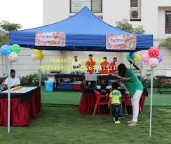 rent canopy tent house of tents pune
