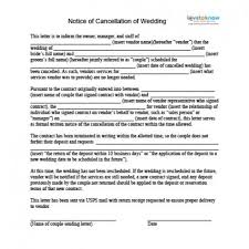 makeup contracts for weddings how to cancel a wedding