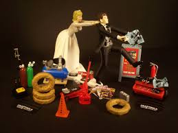 mechanic wedding cake topper wedding cake topper for mechanics auto mechanic awesome